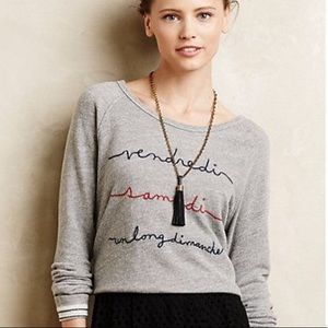 Anthropologie T. LA Pullover